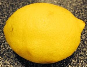 Ripe Organic Lemon