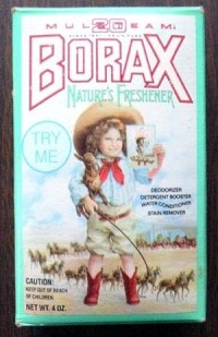 Vintage/Antique Borax Box