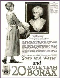 Vintage/Antique Borax Ad
