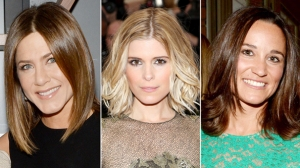 Celebrities with Lob Haircuts