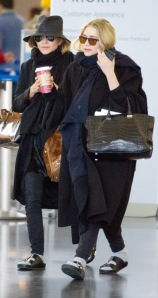 The Olsen Twins in Birkenstocks
